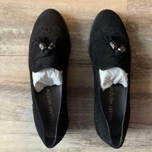 Stuart Weitzman Guything Black Loafer Like New